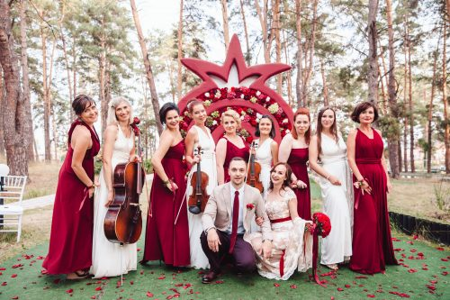 струнный квартет на свадьбе от Куликова ивент
