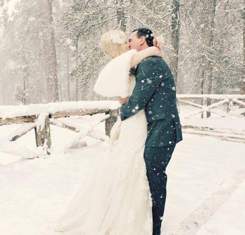 свадьба зимой в самаре